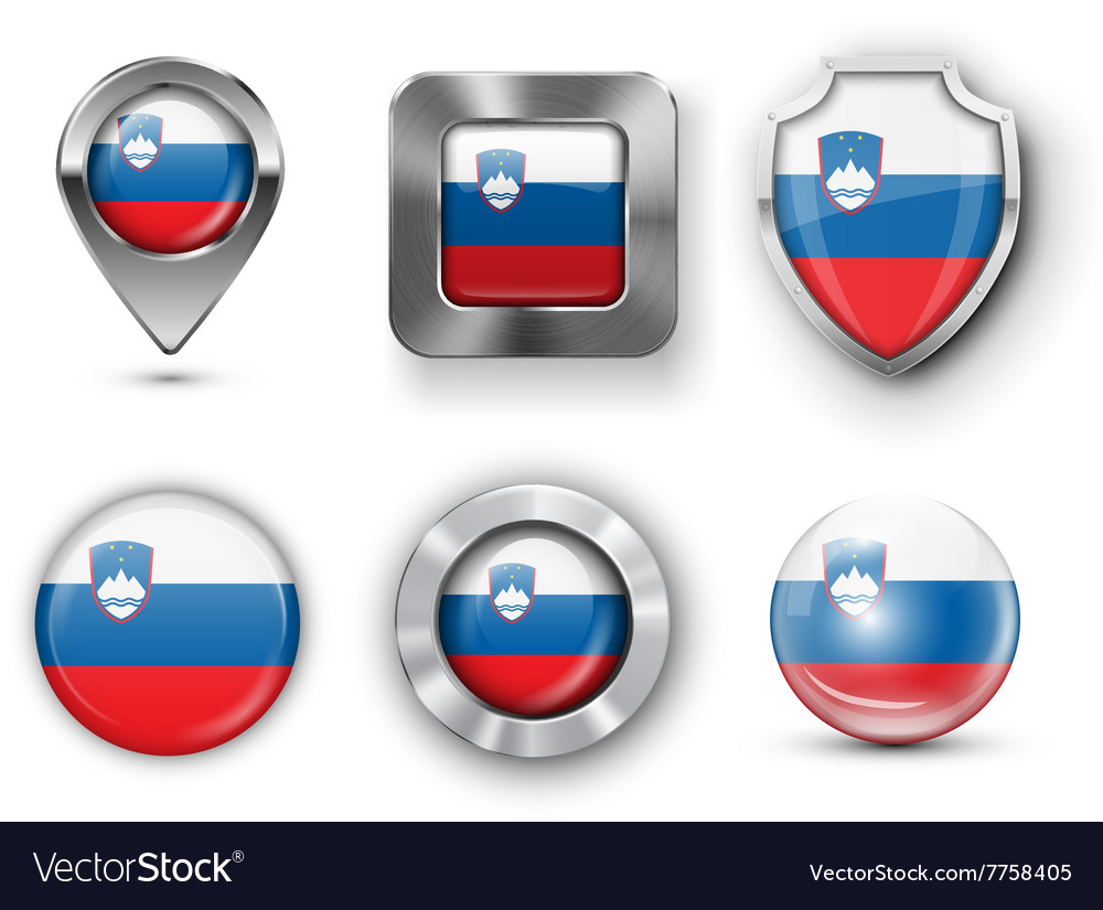 County Flag Bages vector image