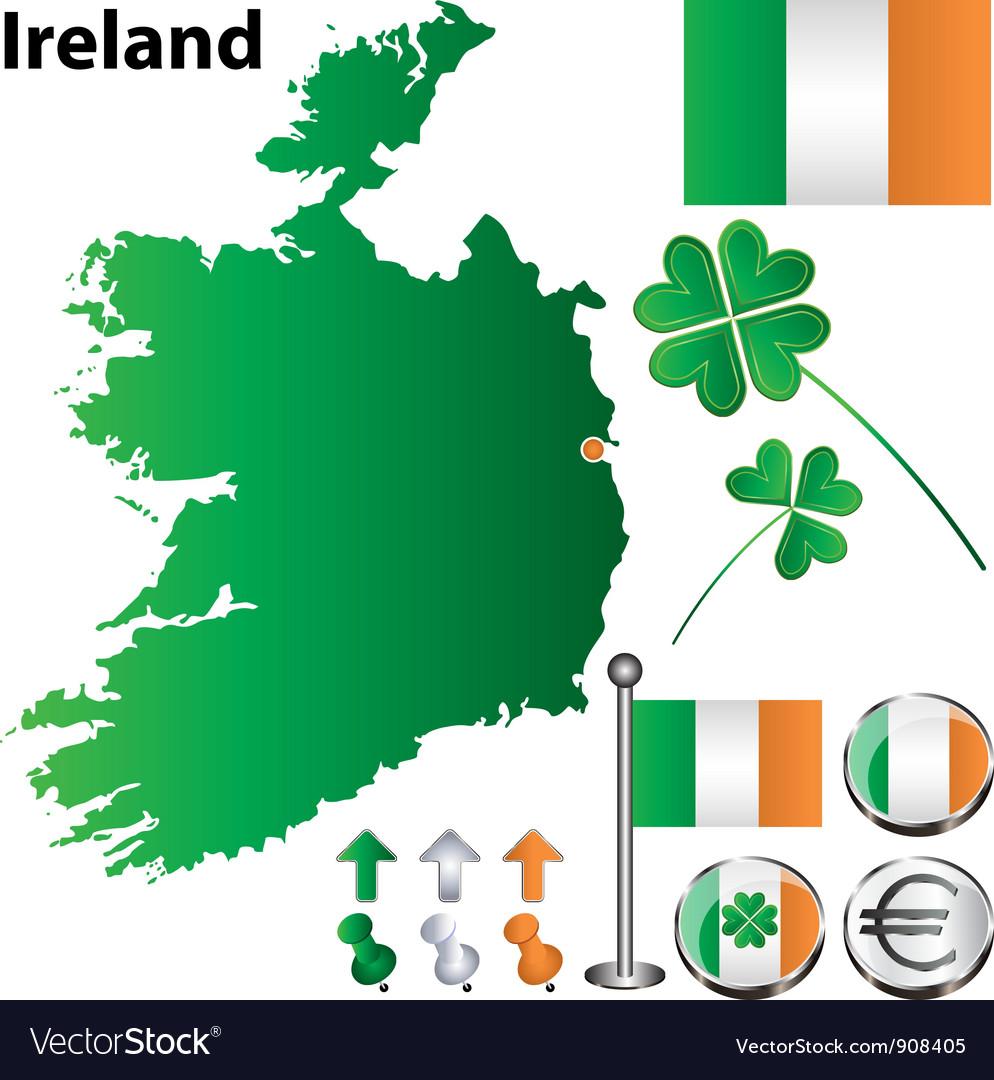 Small Map Of Ireland.Ireland Map Small