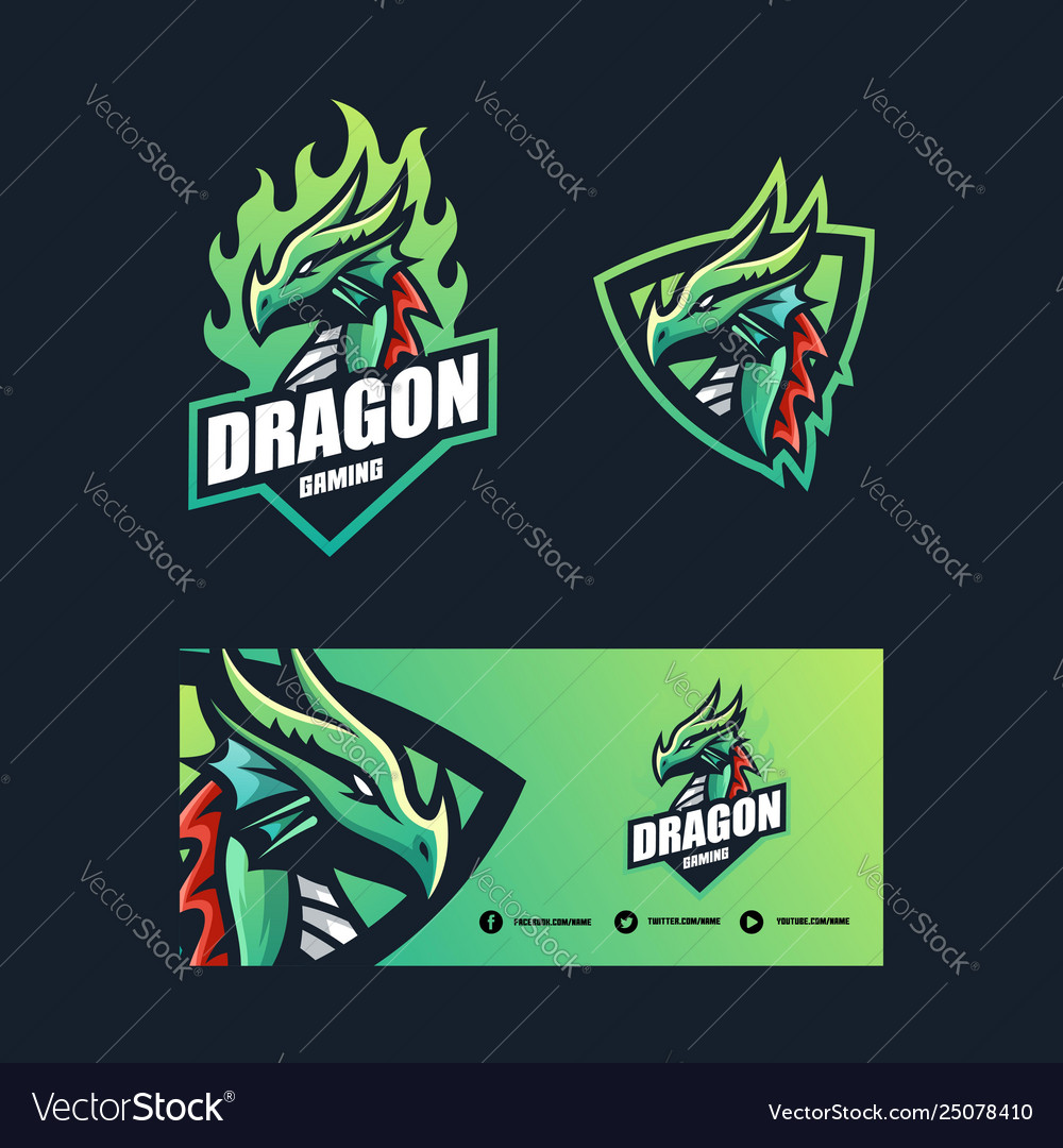 Dragon concept design template