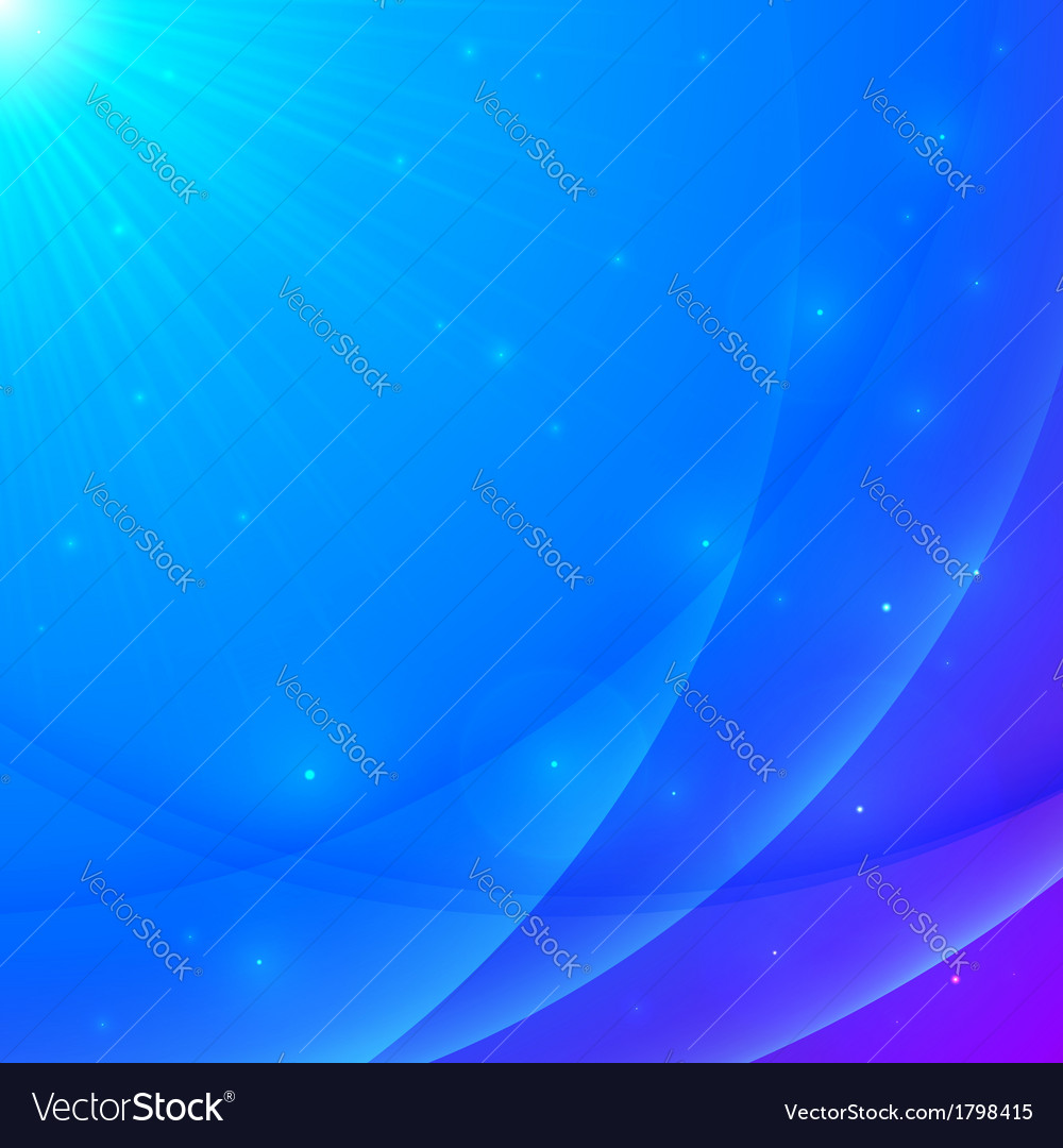 Abstract blue shining wavy background