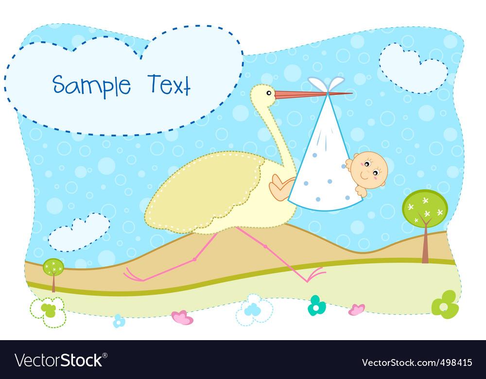 Babys card