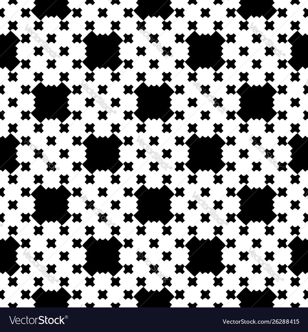 Monochrome seamless pattern cross stitching