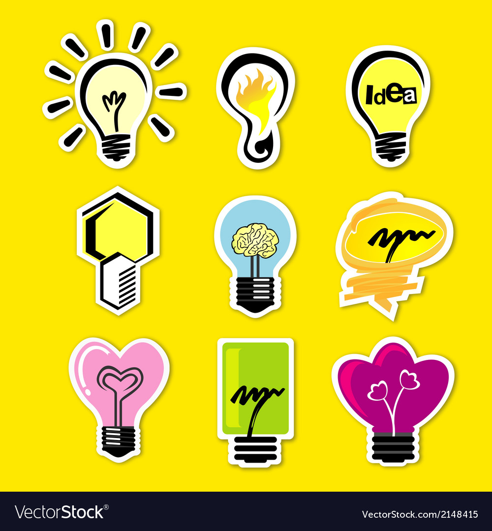 Open Idea v vector image