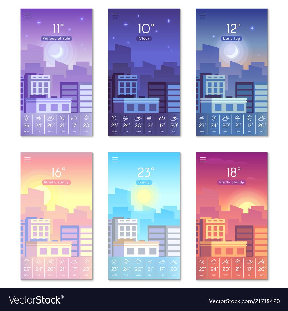 Day and night cartoon daytime phone wallpaper