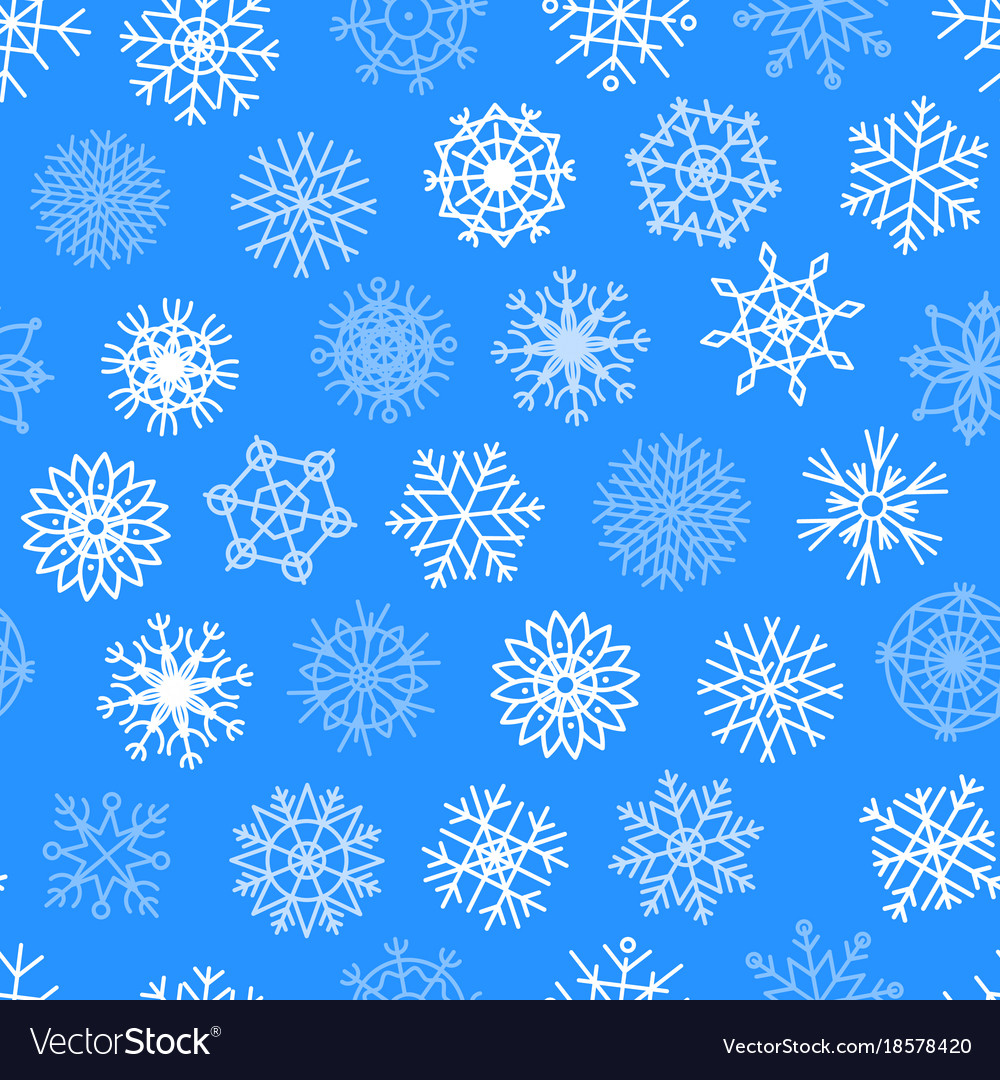 snowflakes icons frozen star christmas royalty free vector