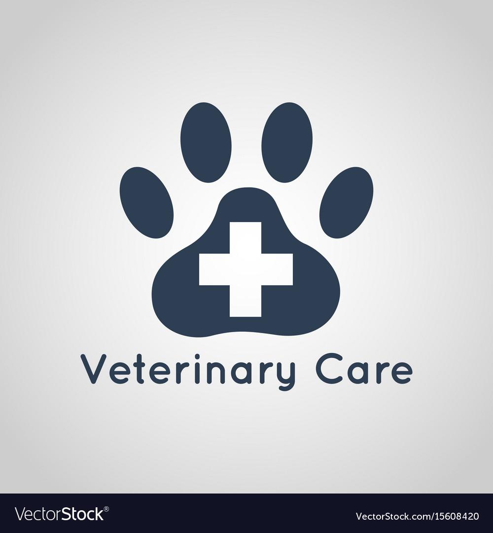 Veterinary care logo