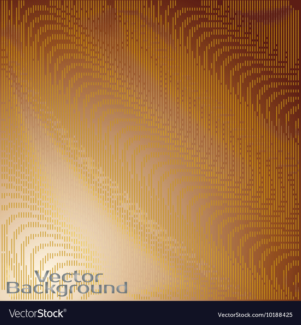 Line wawes abstract background vector image