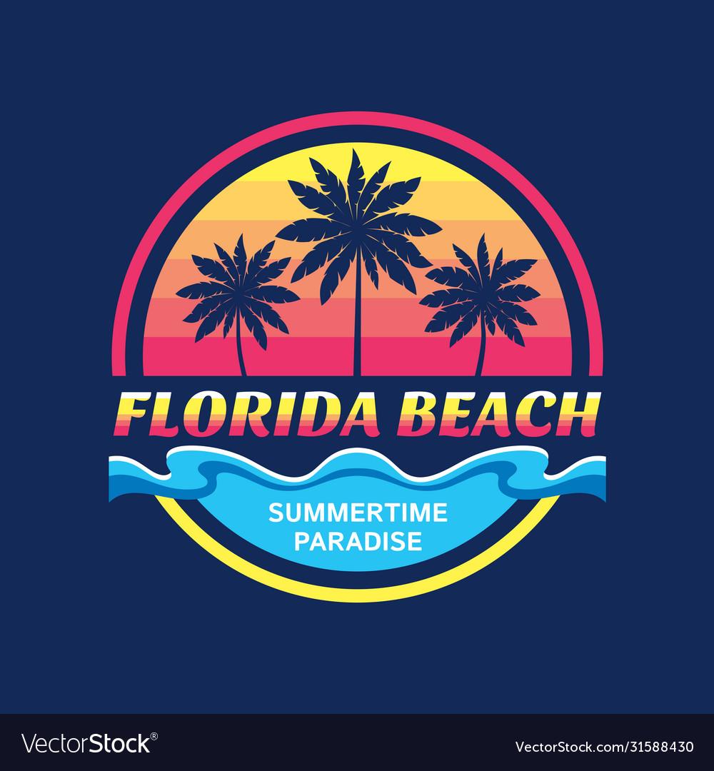 Florida beach - concept