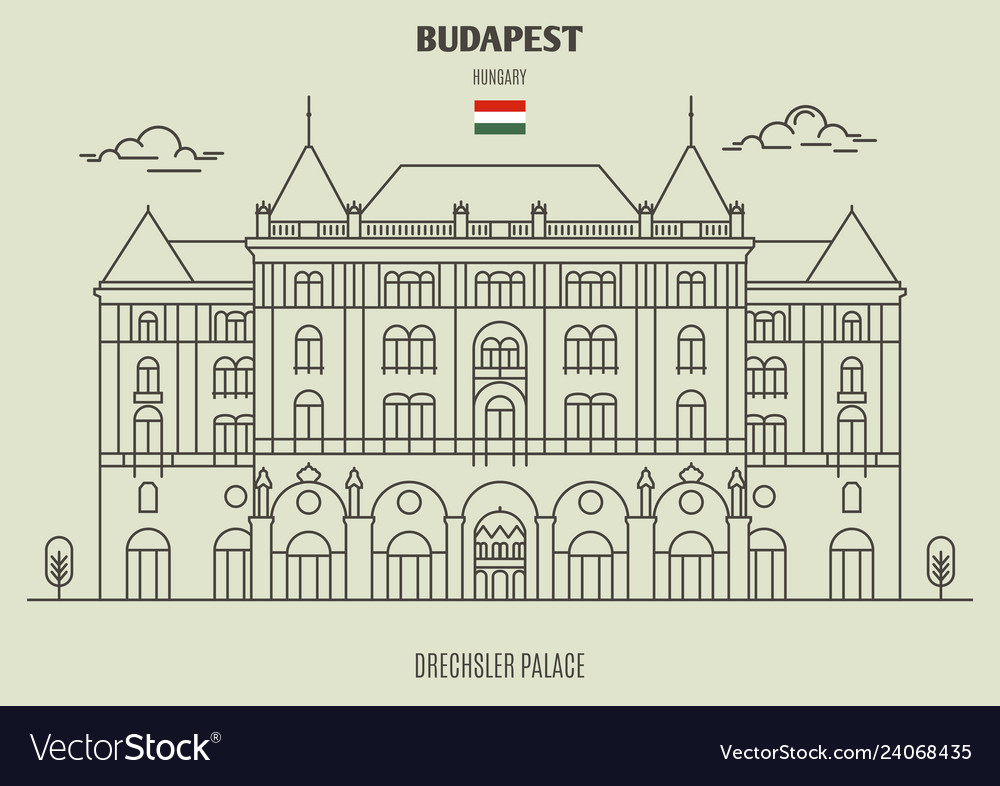 Drexhsler palace in budapest