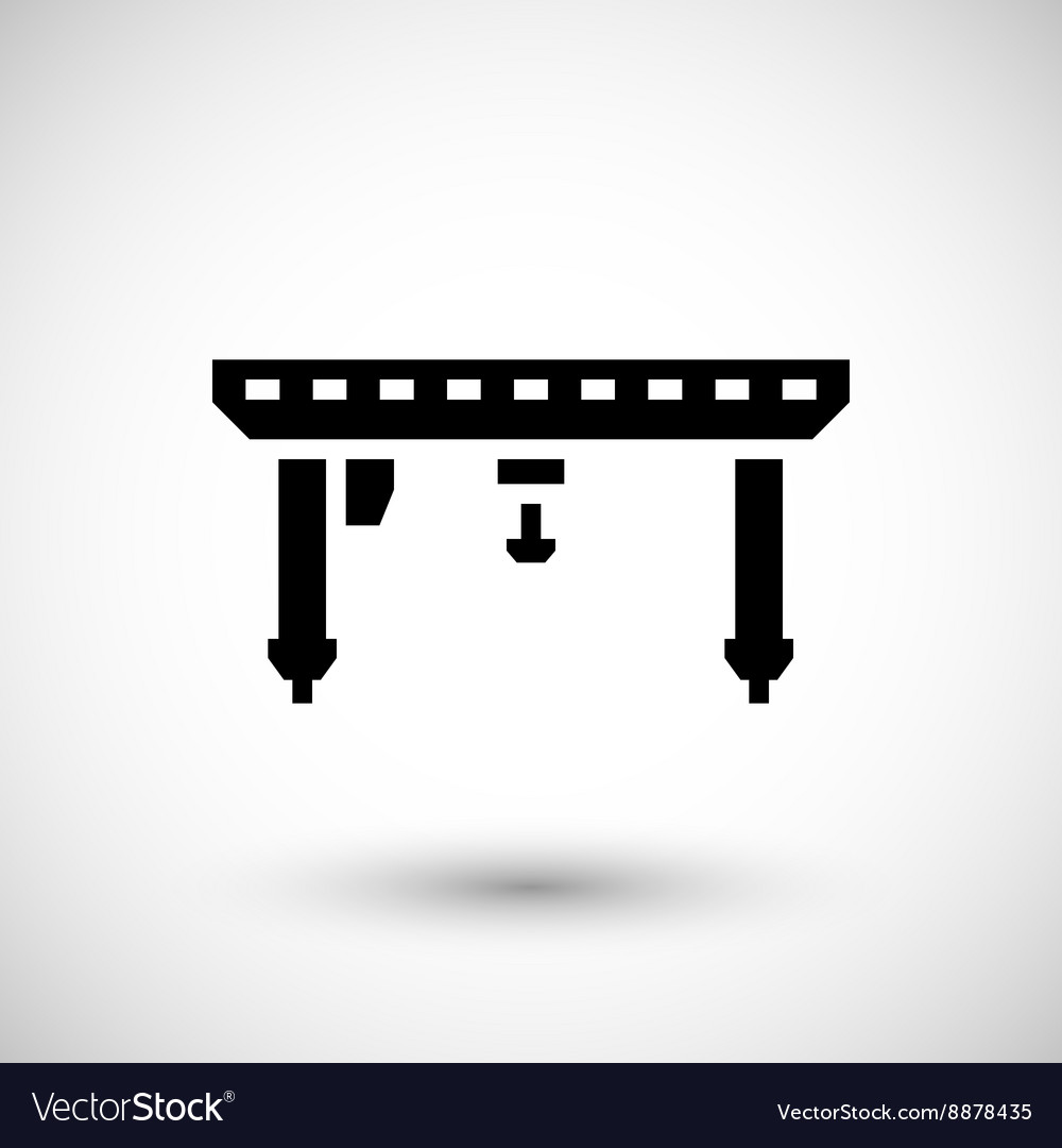 Gantry crane icon
