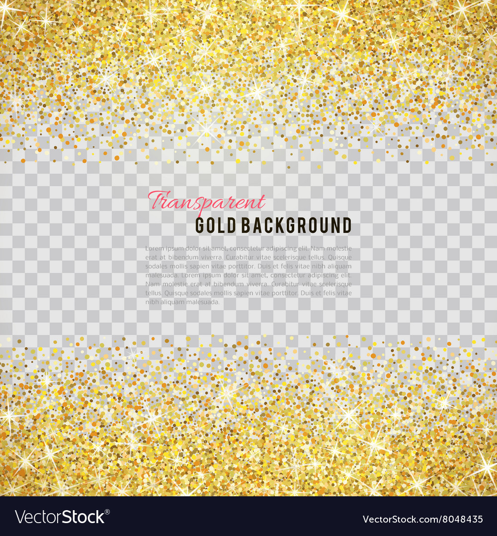 Gold glitter texture with sparkles Royalty Free Vector Image 8a01f01b6e22