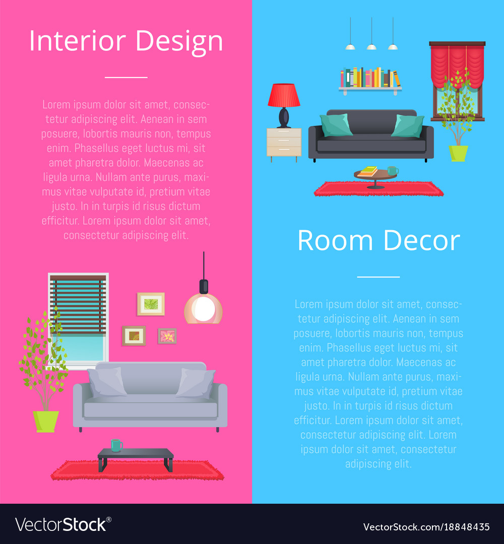 Interior design and room decor