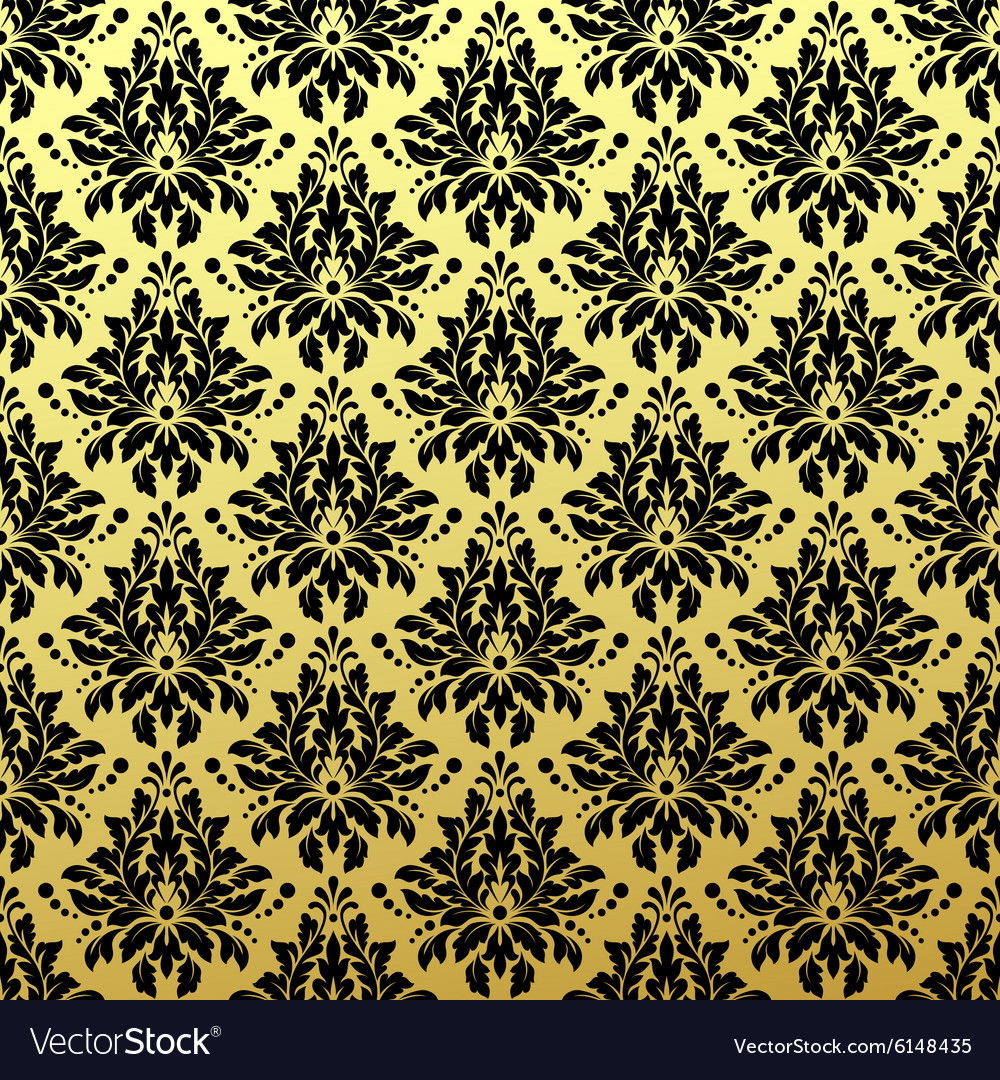 Luxury Golden Seamless Wallpaper Pattern