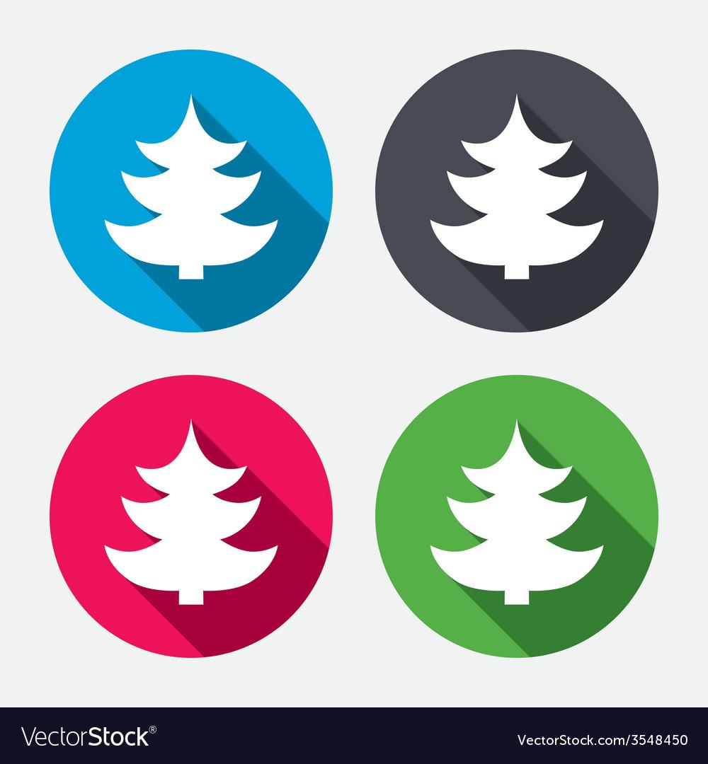 Christmas Holidays Icon.Christmas Tree Sign Icon Holidays Button