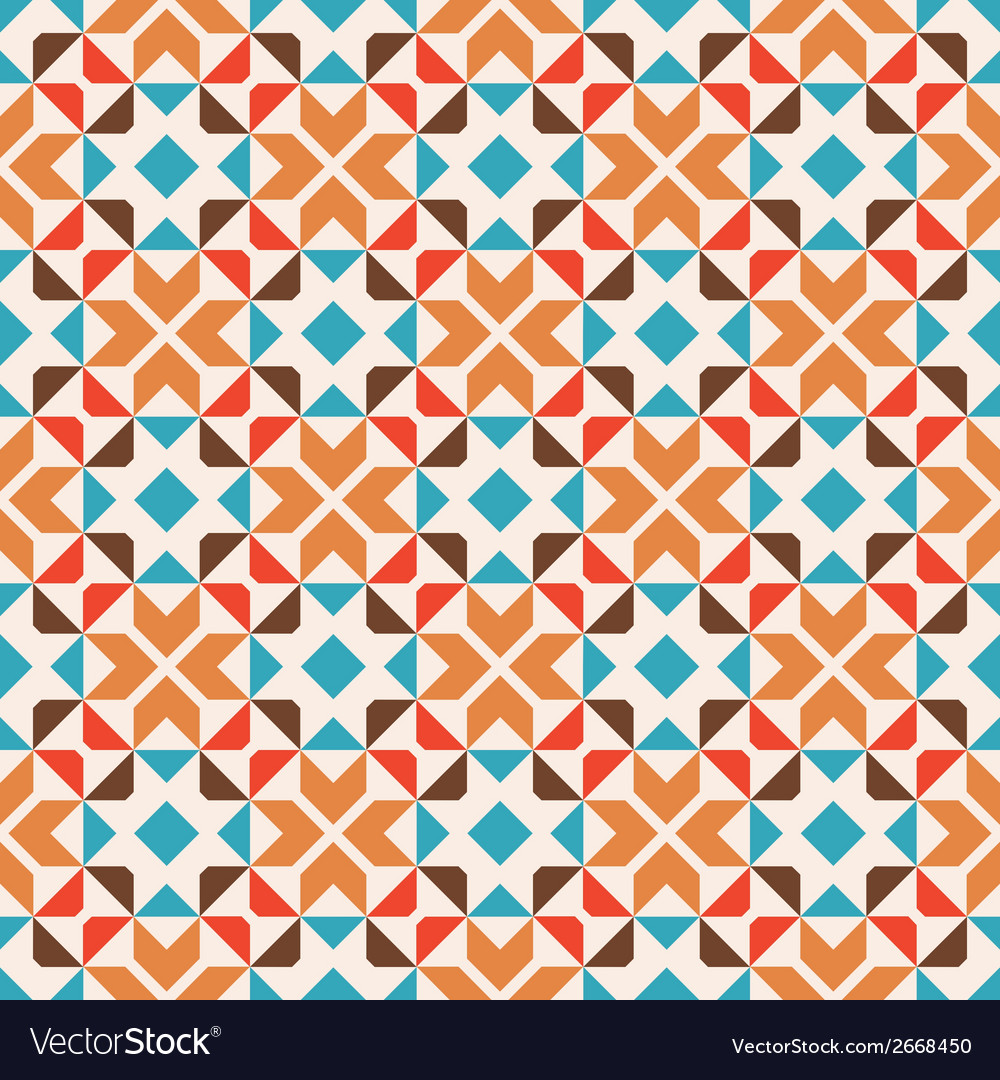 Seamless geometric pattern abstract background