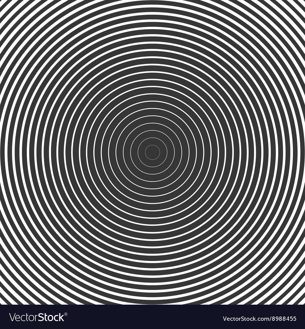 Circle Ring Hypnotic Background