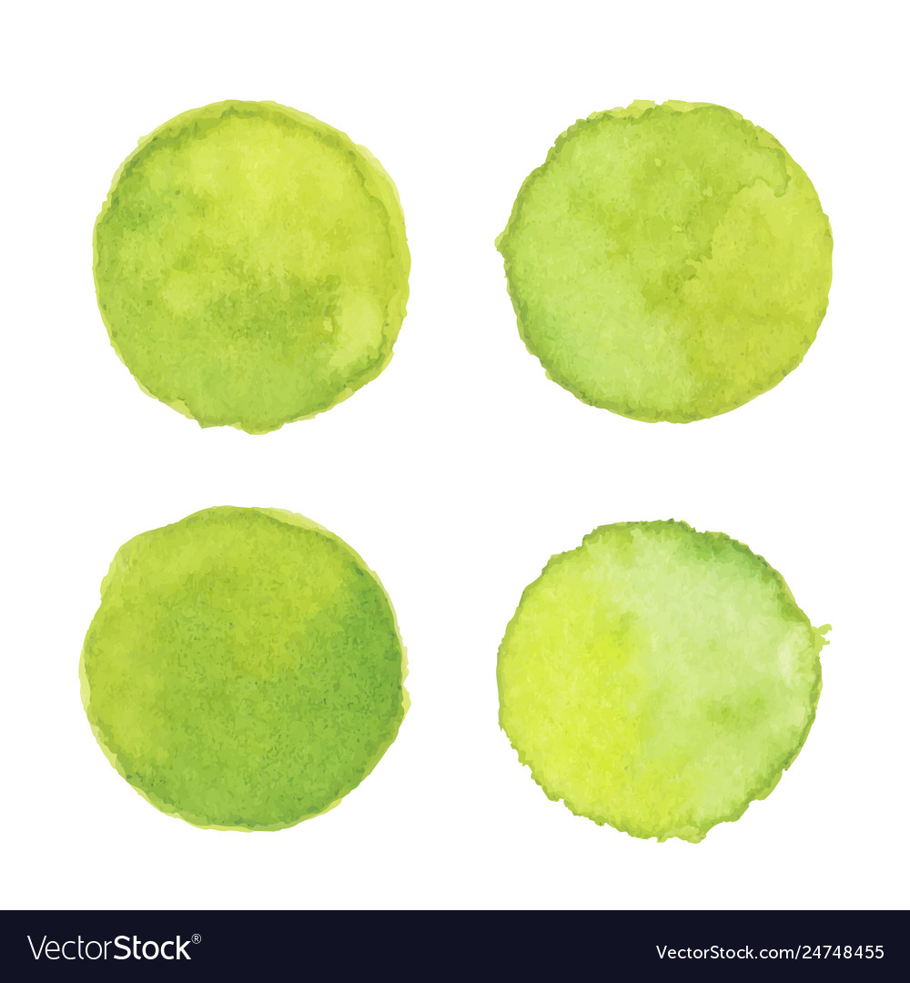 Light green watercolor stain