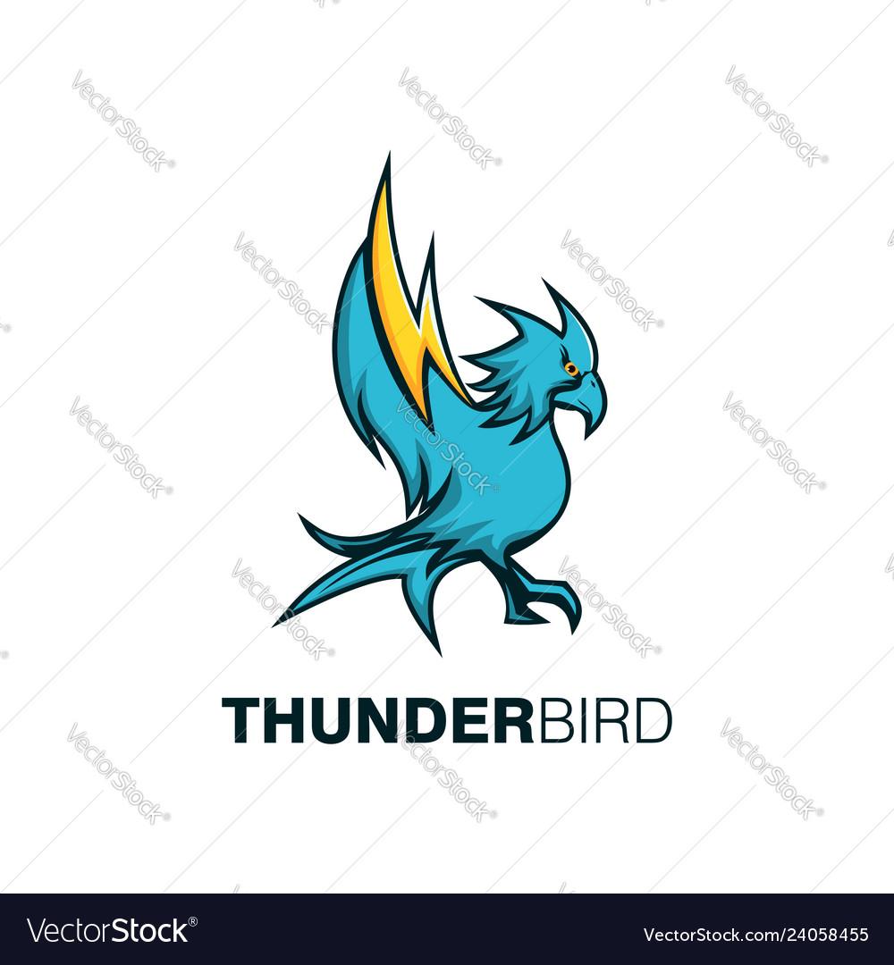 Thunder bird mascot