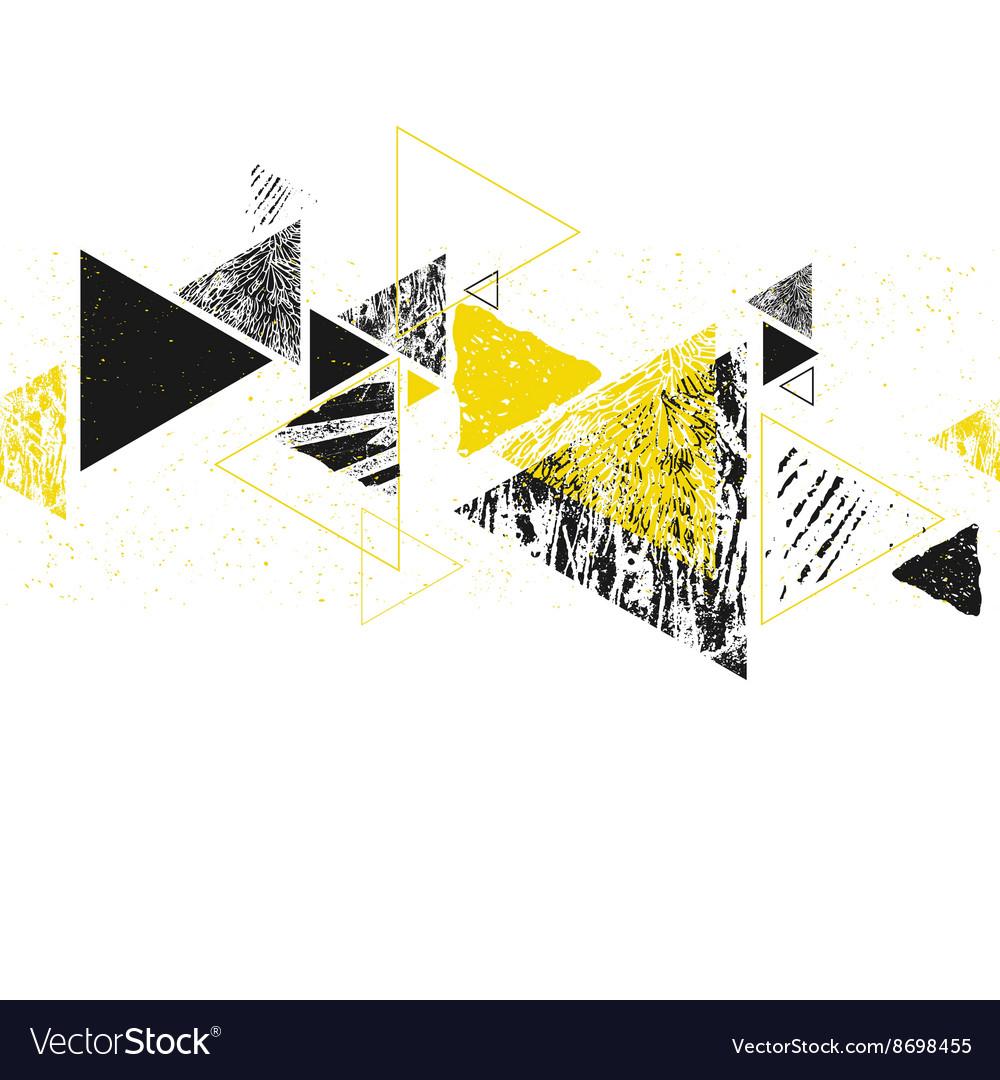 Triangle seamless pattern