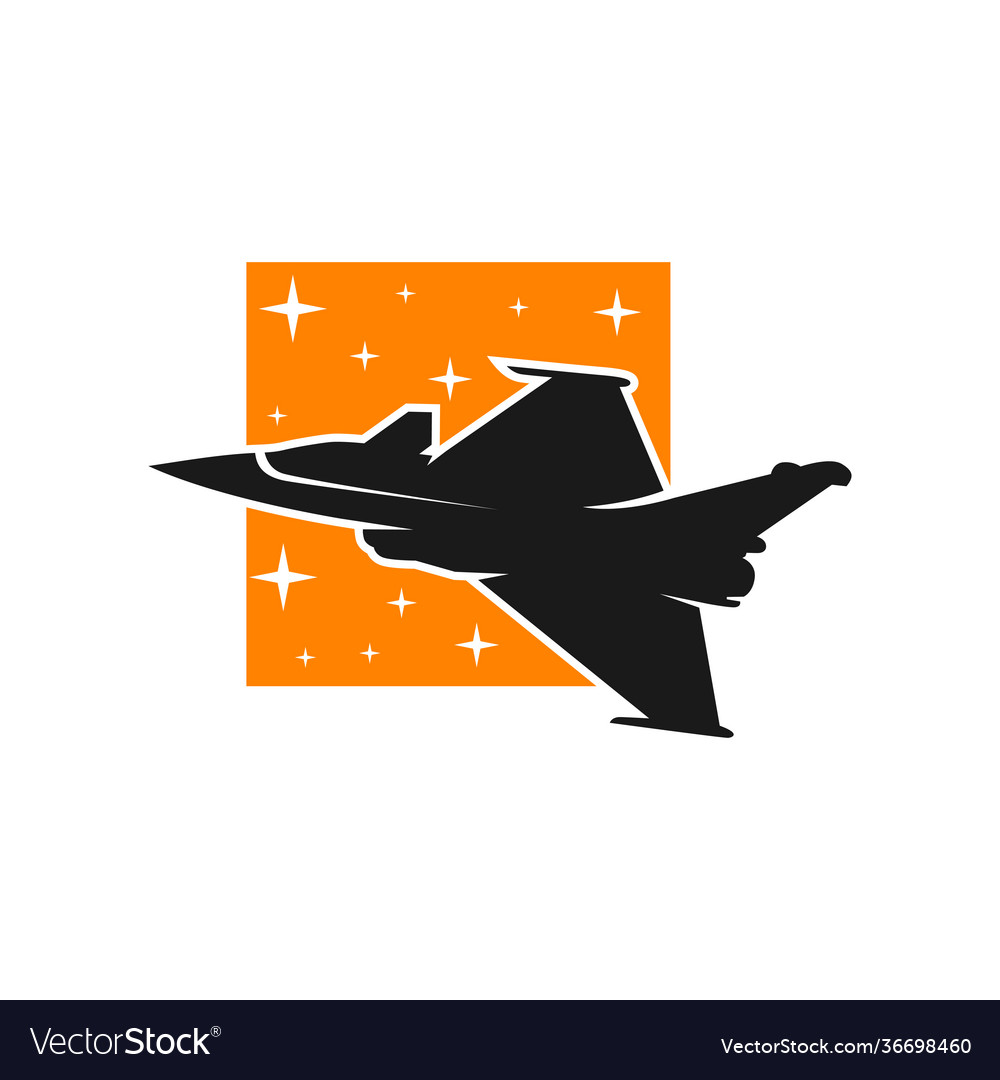 Fighter plane maneuver logo