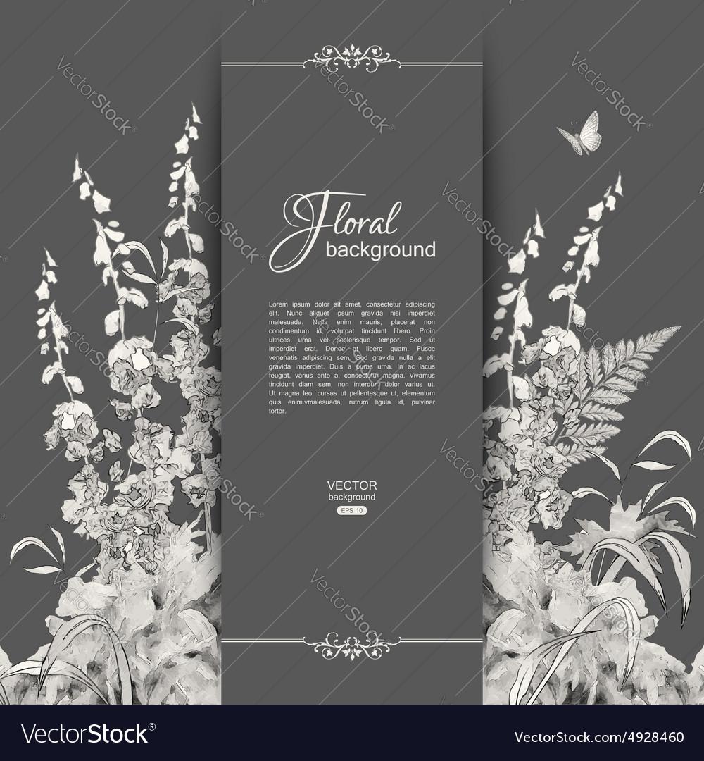 Floral Romantic Card