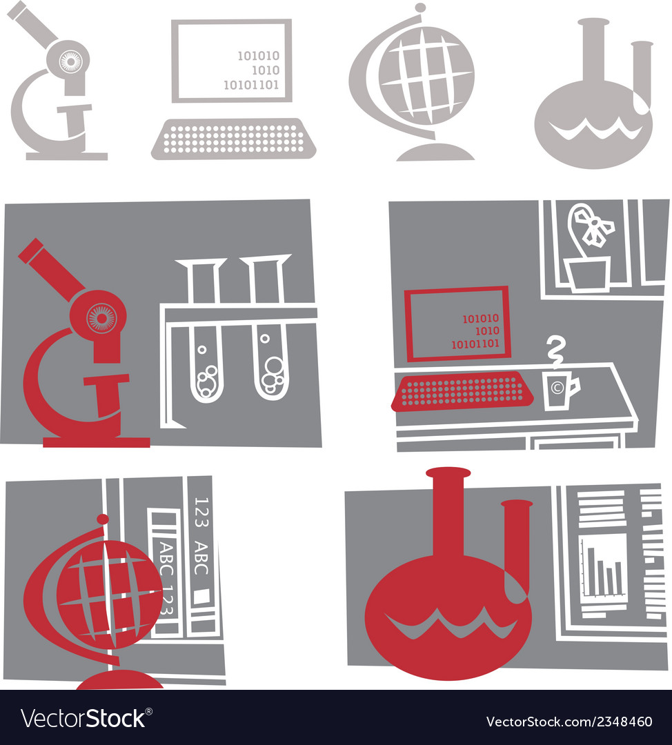 Science Education vector image
