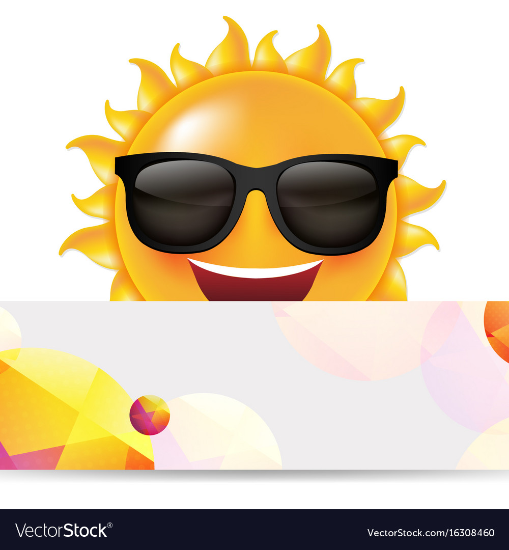 Sun with banner