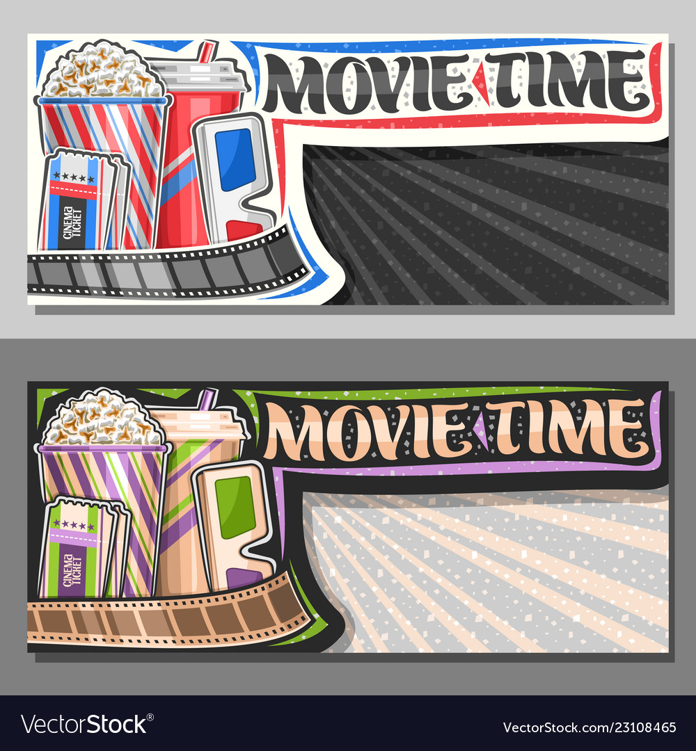 Banners for movie time