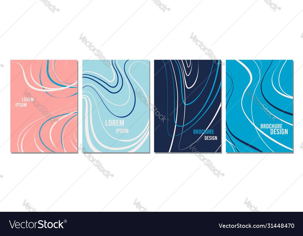 Brochure design templates collection
