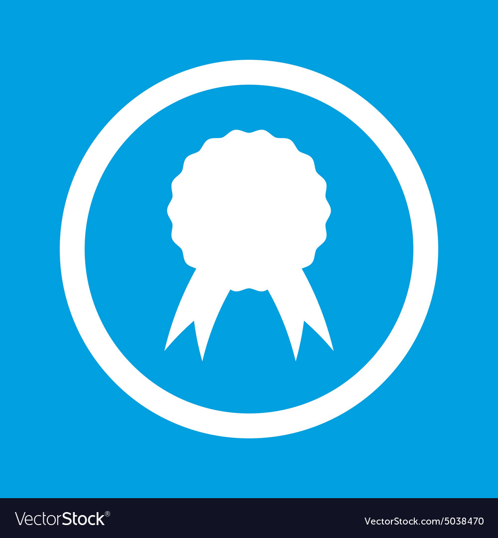 Certificate Seal Sign Icon Royalty Free Vector Image