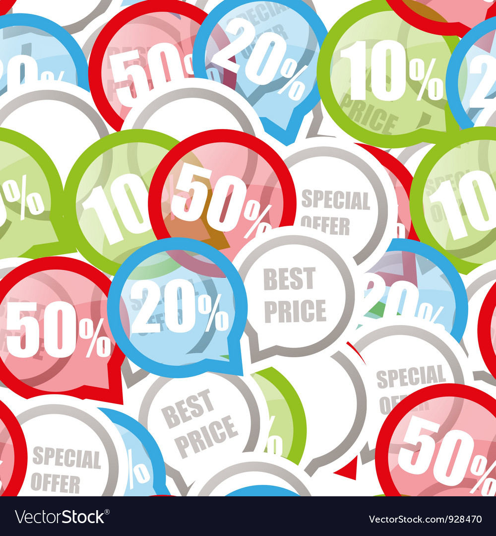 Price discount background