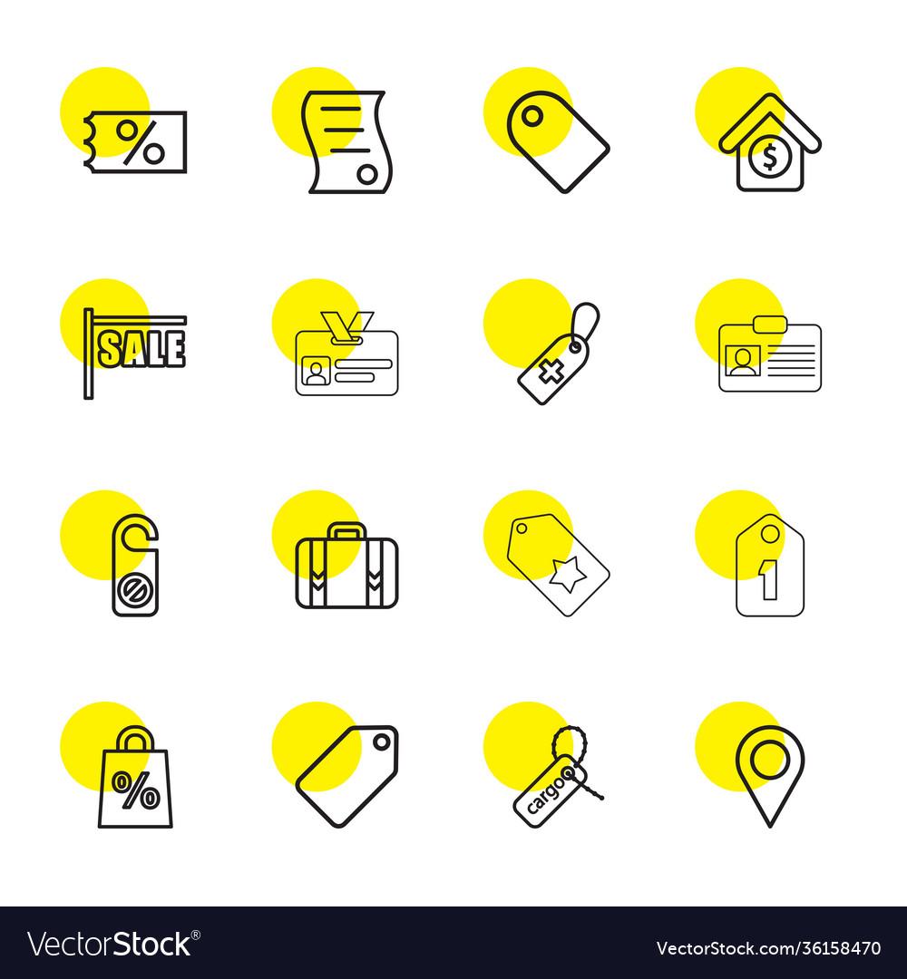 Tag icons
