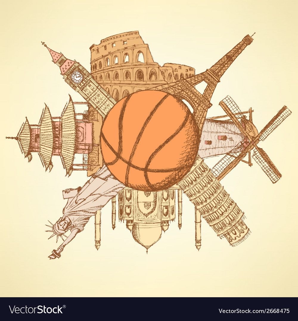 Basket Ball Buildings