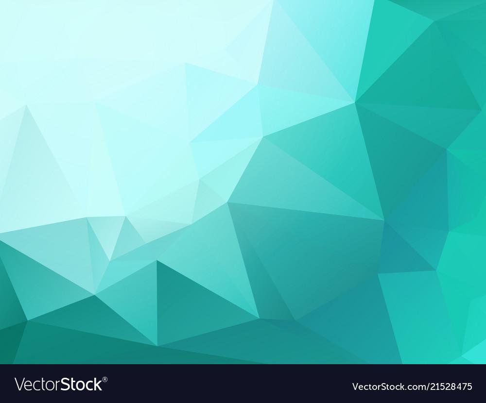 Light green mosaic triangle pattern