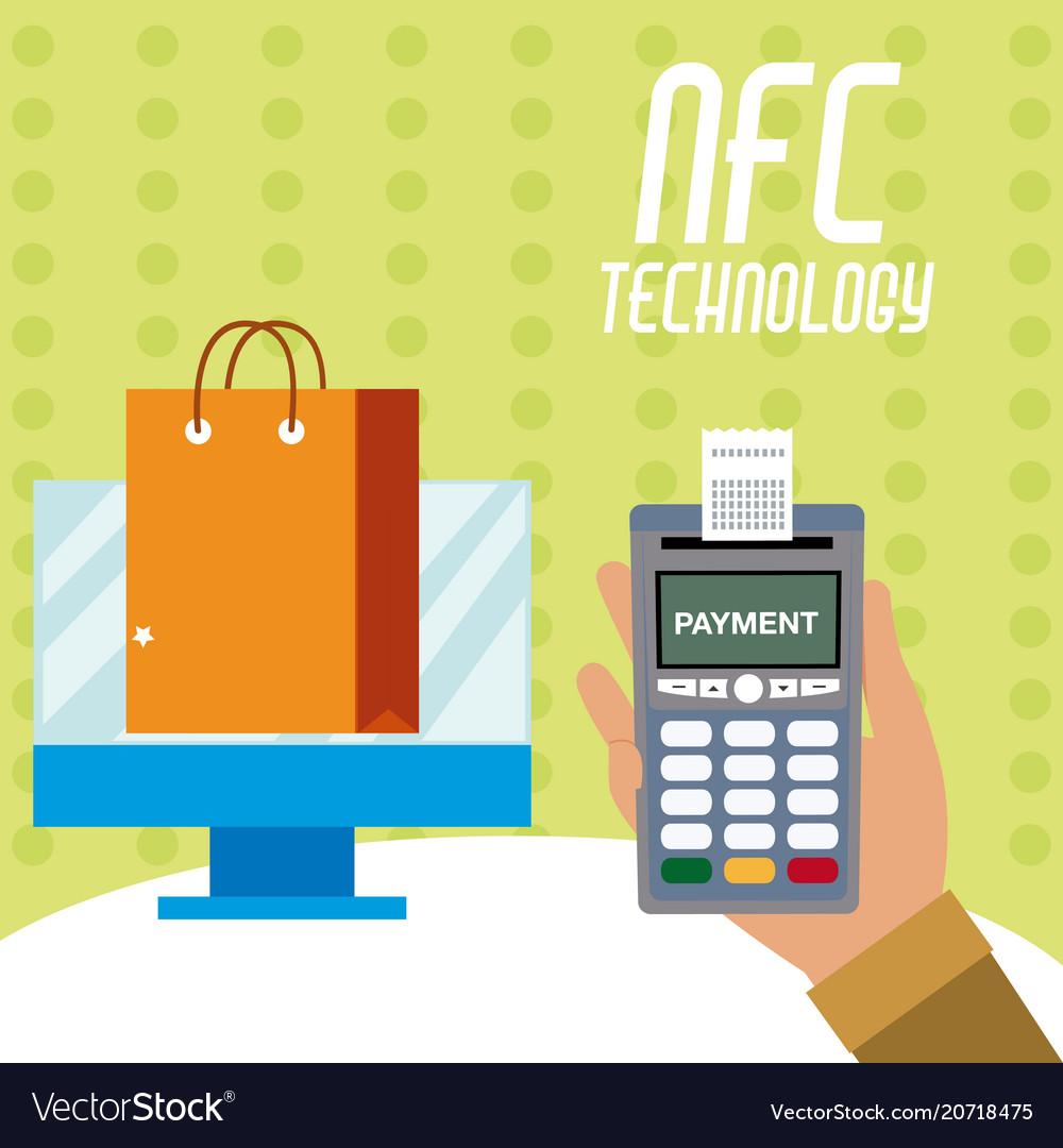 Nfc technology for shopping