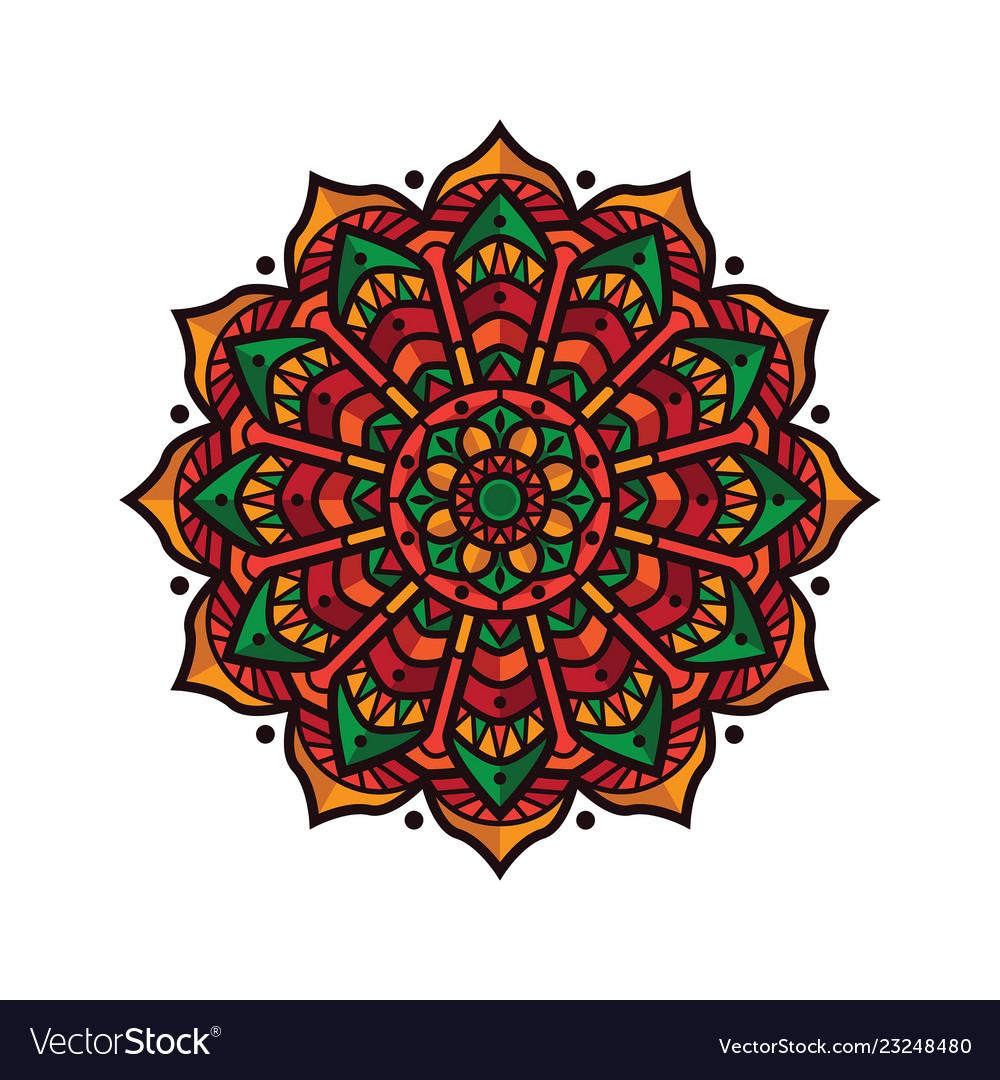 Design mandala vintage decorative