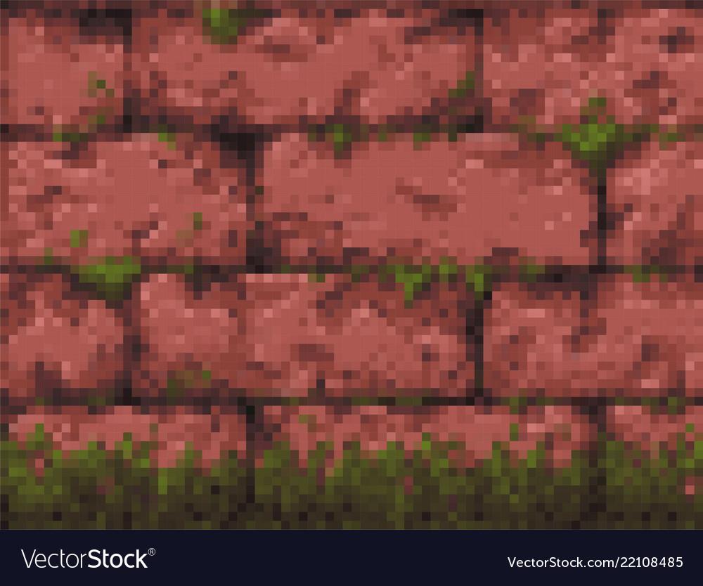 pixel-art-retro-wall-parallax-background-vector-22108485 Pixel Art Background Free @koolgadgetz.com.info