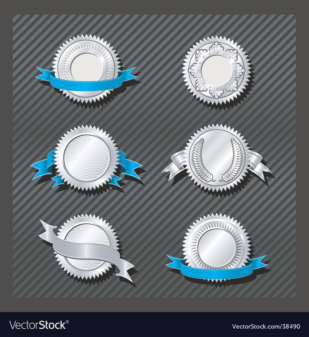 Emblems series medallion vector image