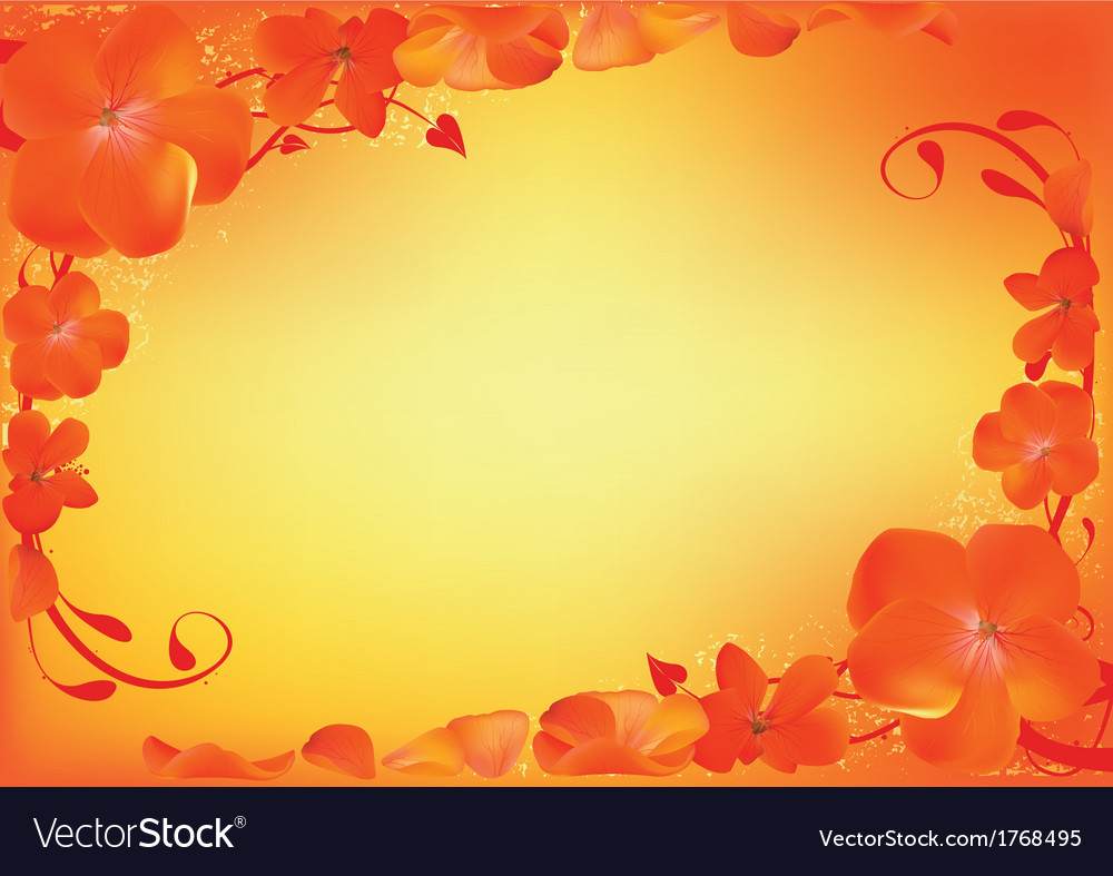 Flowery Floral vector image