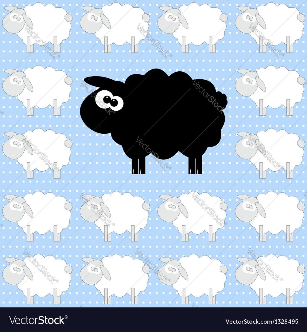 sheep royalty free vector image vectorstock