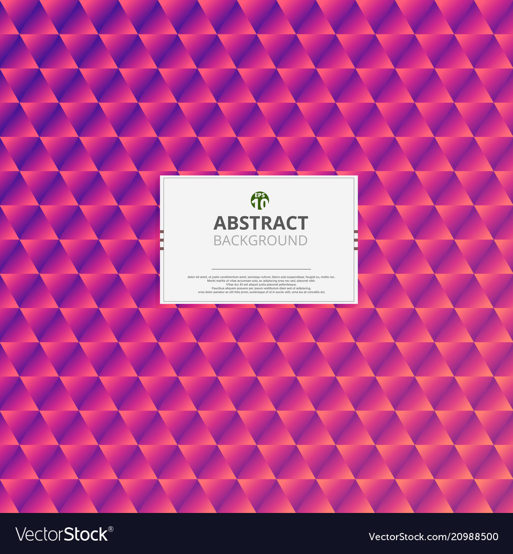 Abstraction of stylish colorful pattern background vector image