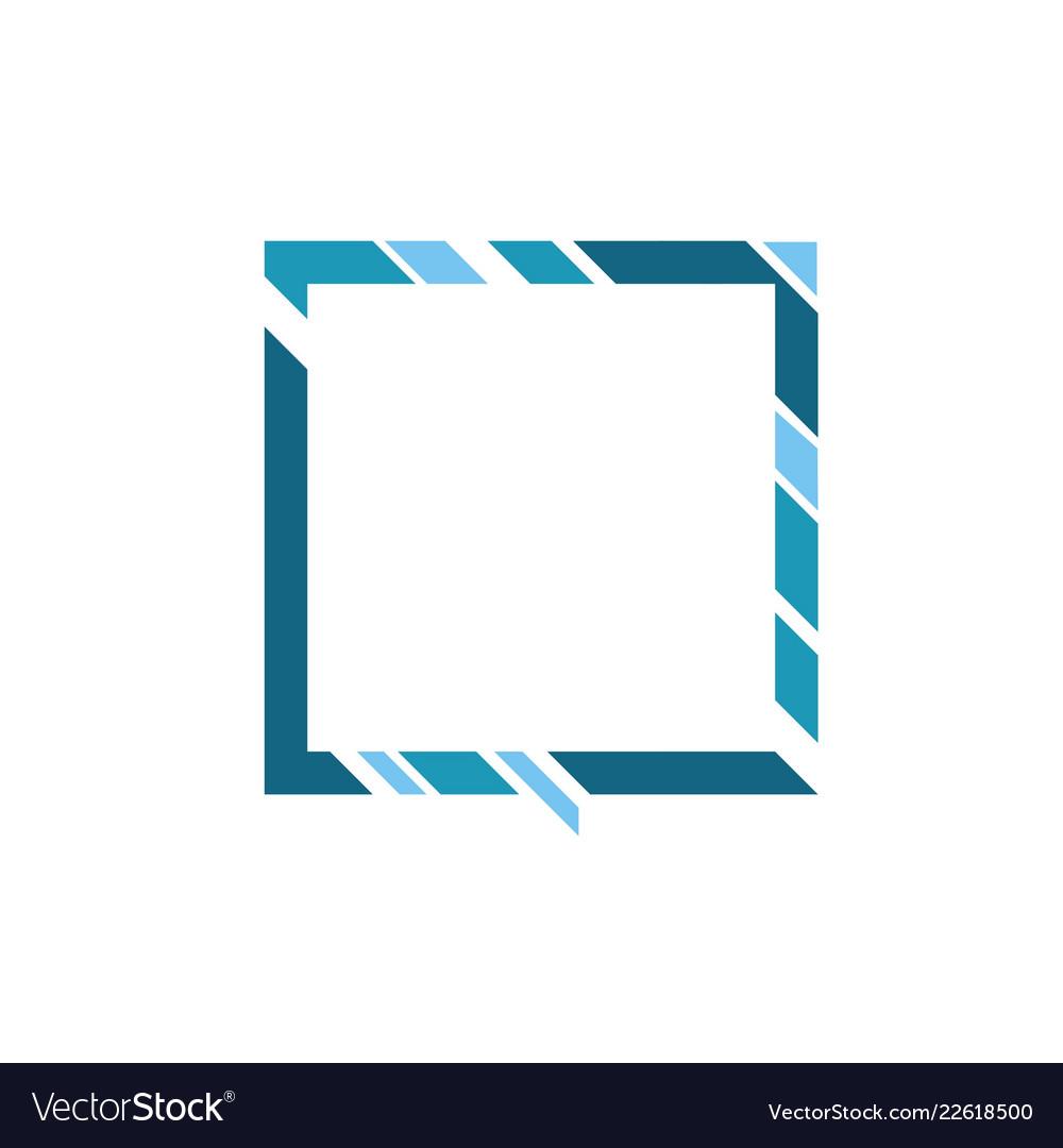 geometric banner shape royalty free vector image