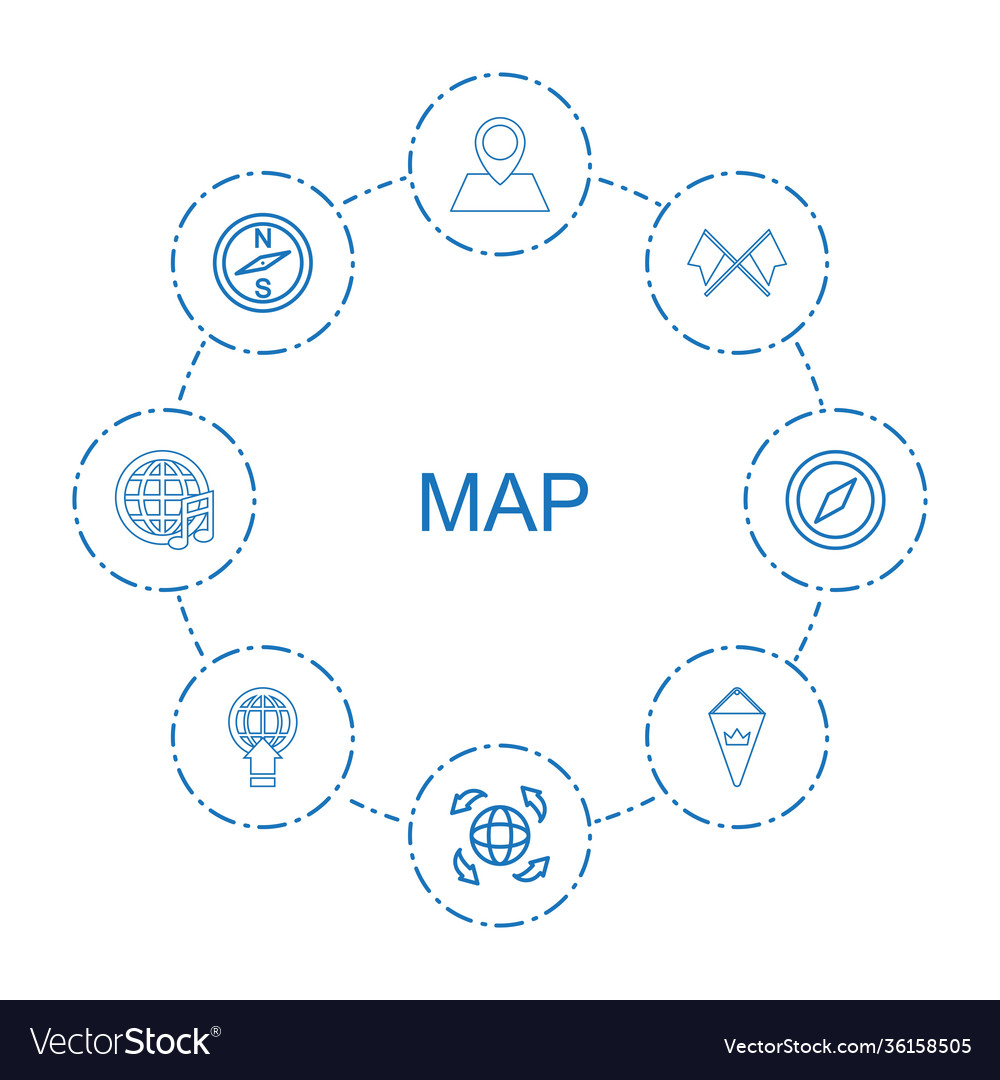 8 map icons