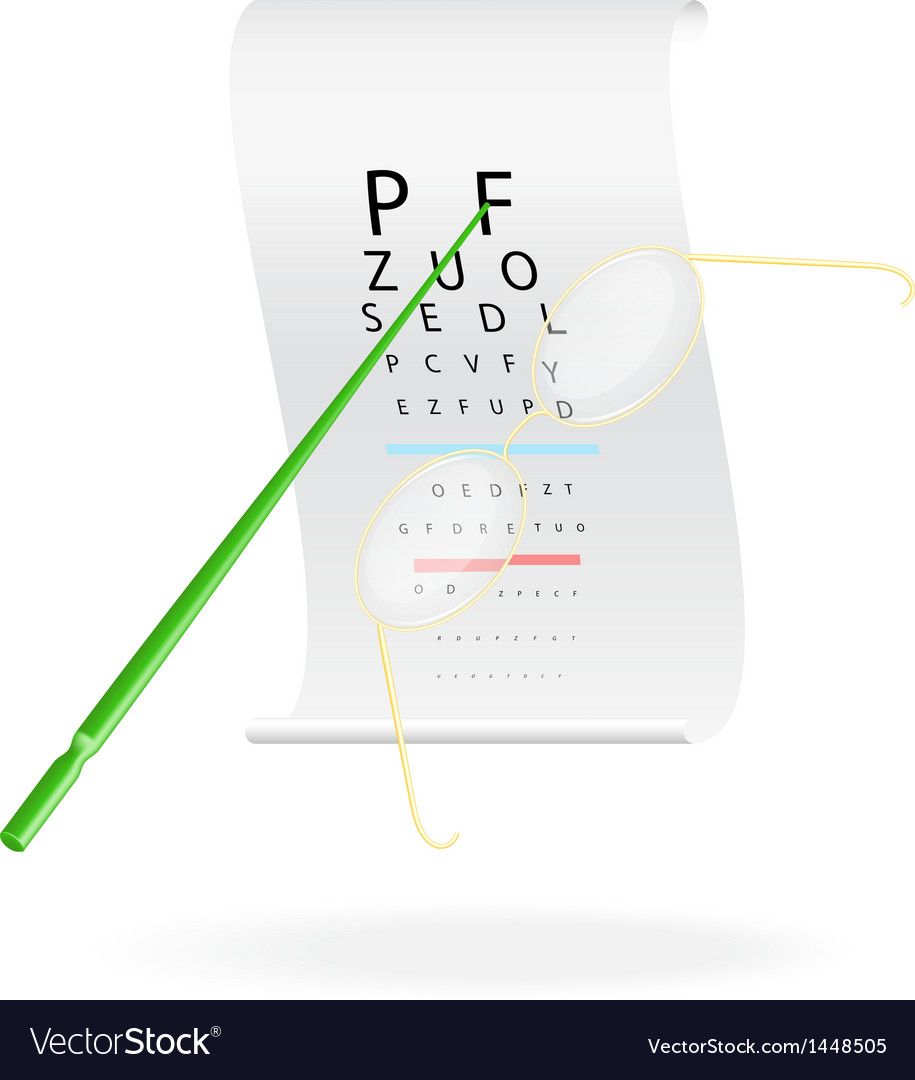 Eye Vision Test Chart