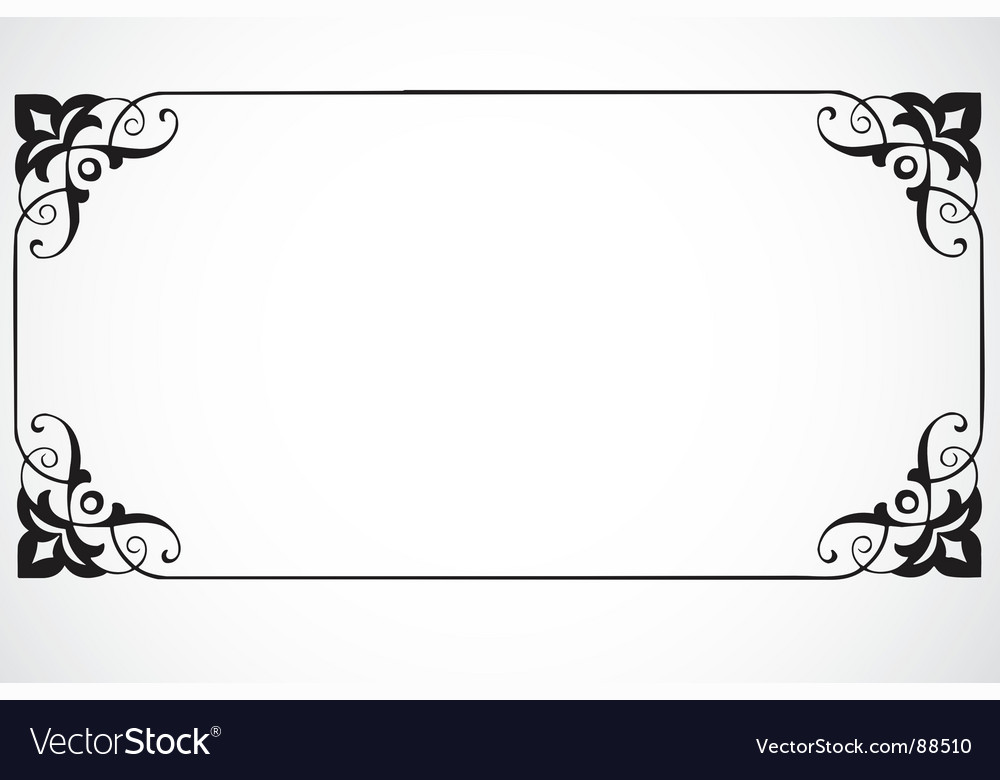 Certificate Frame Royalty Free Vector Image Vectorstock