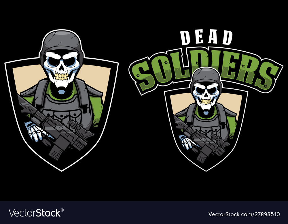 Dead soldiers mascot