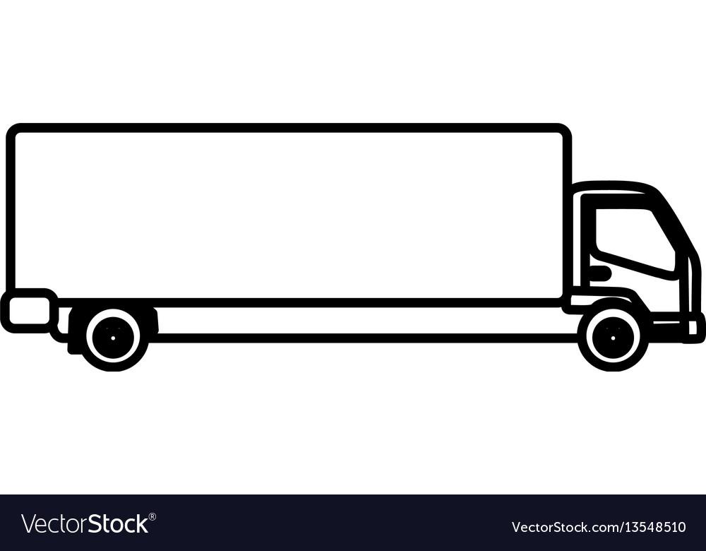 Figure trucks trailer icon