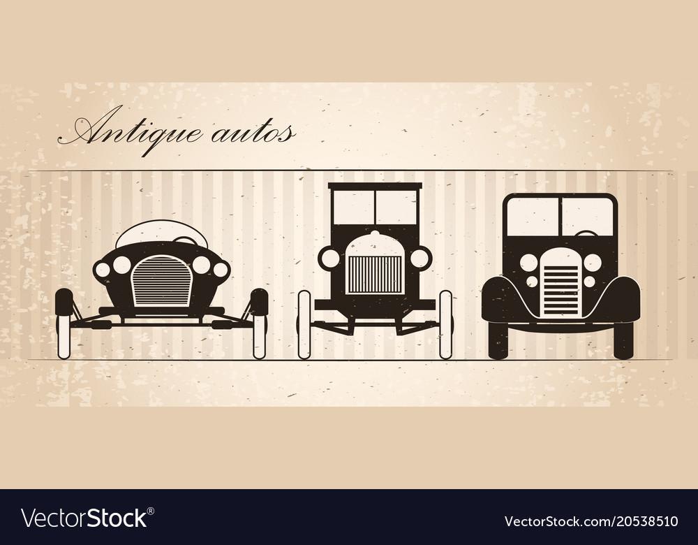 Retro autos
