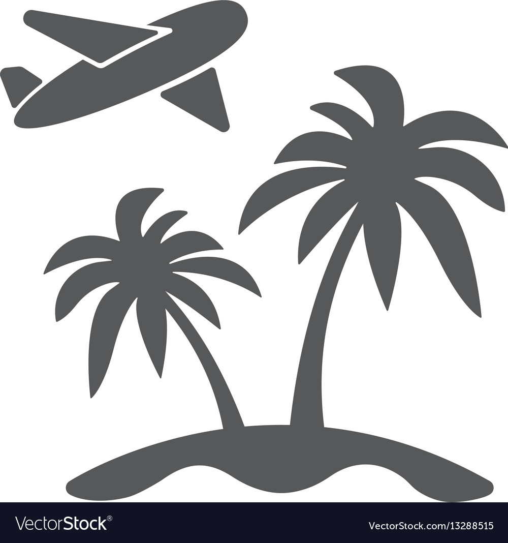 Modern travel concept vector image