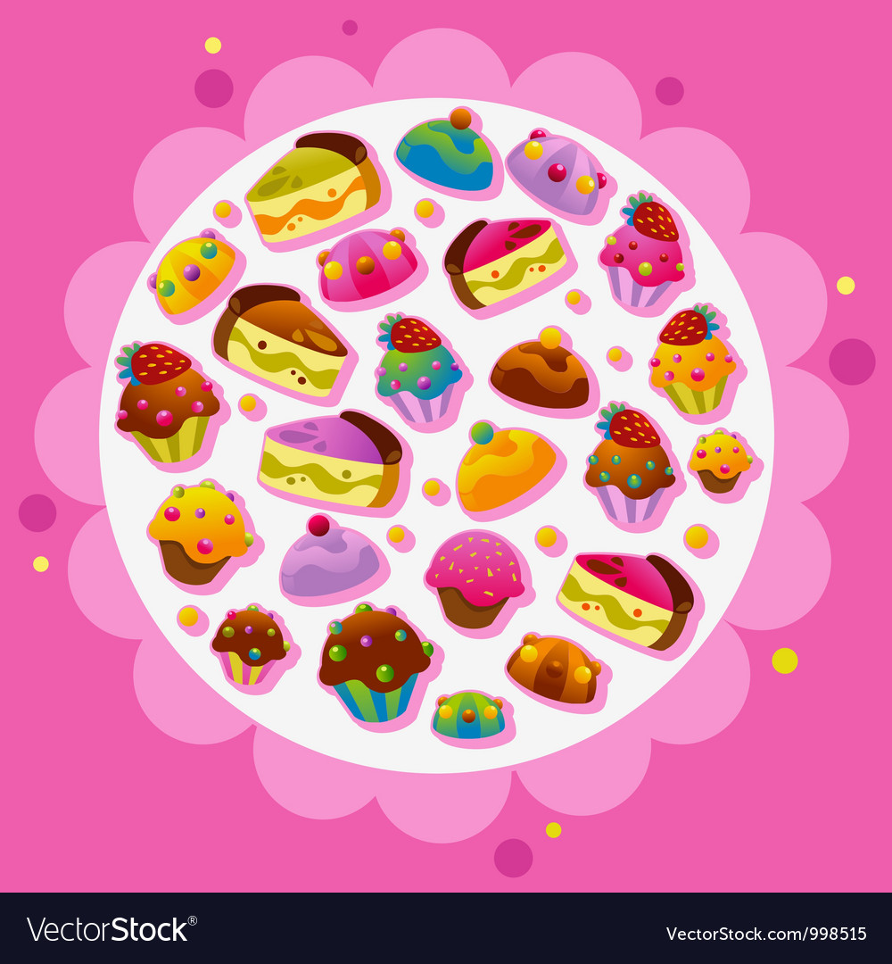 Template designs vector image